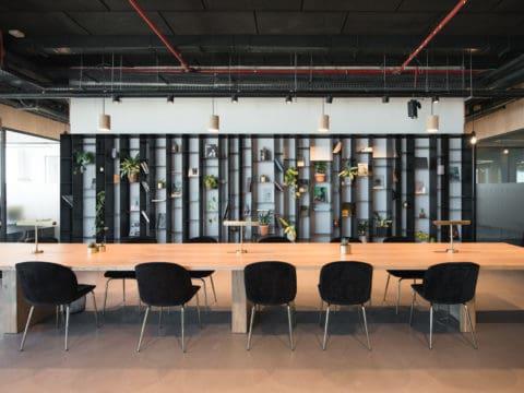 חדר הרצאות בלאבס שרונה - LABS Sarona - חלל עבודה בתל אביב