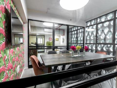 חדר ישיבות ברי:טק האב - Re:Tech Hub - חלל עבודה בתל אביב