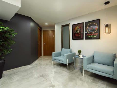 חדר ישיבות בתחשוב עסקים - Think Business - חלל עבודה בפתח תקווה