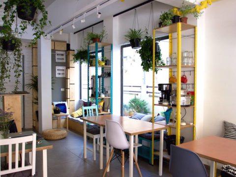 אוור ספייס תל אביב - HOURSPACE Tel Aviv - חלל עבודה בתל אביב