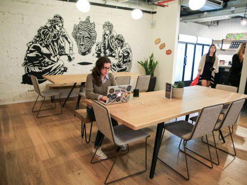 ווי-וורק לונדון מיניסטור תל אביב - WeWork London Ministore Tel Aviv - חלל עבודה בתל אביב