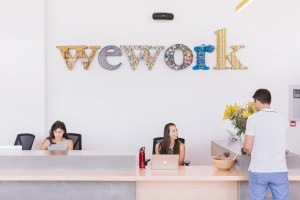 WeWork מותג או שם גנרי לחלל עבודה משותף