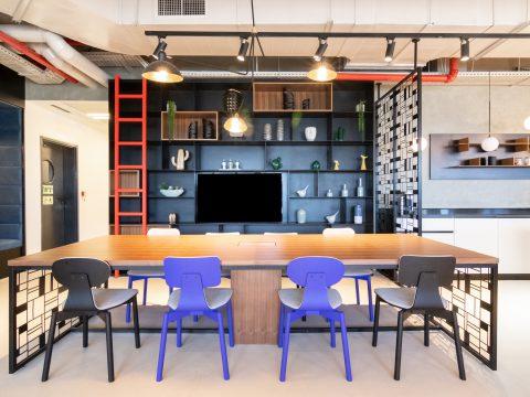 חדר ישיבות בריג'ס פל-ים חיפה - Regus Pal Yam Haifa - חלל עבודה בחיפה