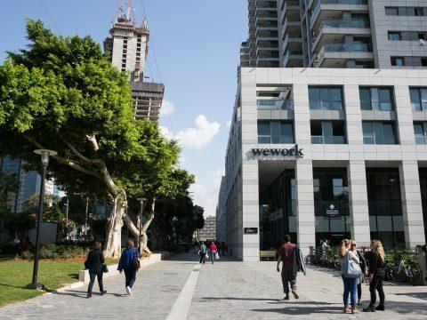 עמדה באופן ספייס בווי-וורק שרונה תל אביב - WeWork Sarona Tel Aviv - חלל עבודה בתל אביב