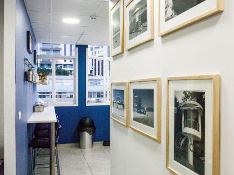 משרד פרטי בשרונה ספייס הארבעה - Sarona Space HaArbaa - חלל עבודה בתל אביב