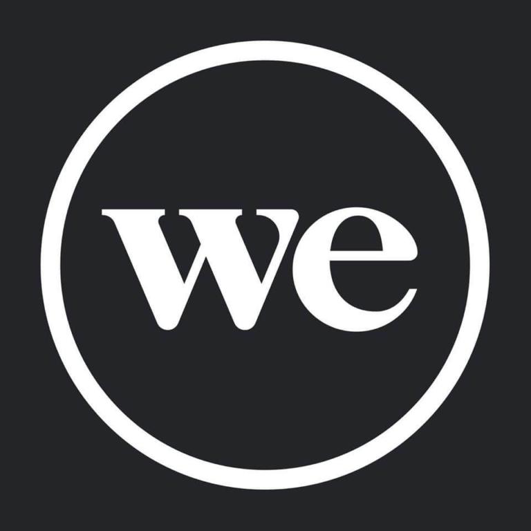 wework logo ווי וורק לוגו שחור