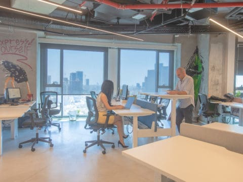 בי אול מגדל אלון 2 - BE ALL Alon 2 Tower - חלל עבודה בתל אביב