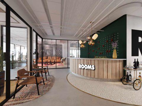 חדר ישיבות ברומס בגין תל אביב - ROOMS Begin Tel Aviv - חלל עבודה בתל אביב