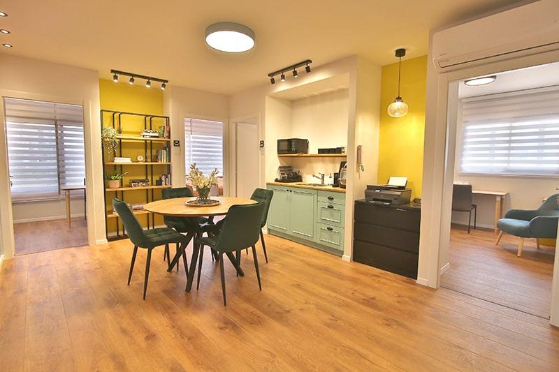 חלל עבודה מחוברים קליניקות חדרי טיפול ומשרדים 2