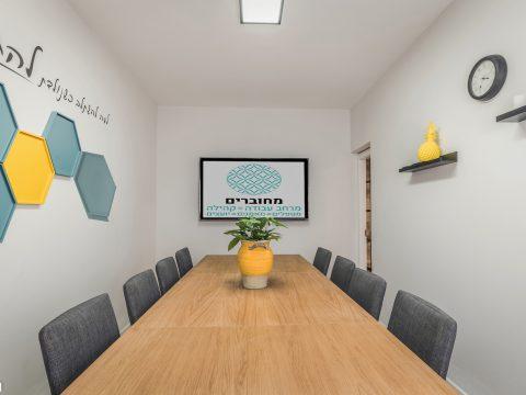 מחוברים - Mehubarrim - חלל עבודה בקריית מוצקין