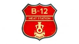 b 12 meat station logo